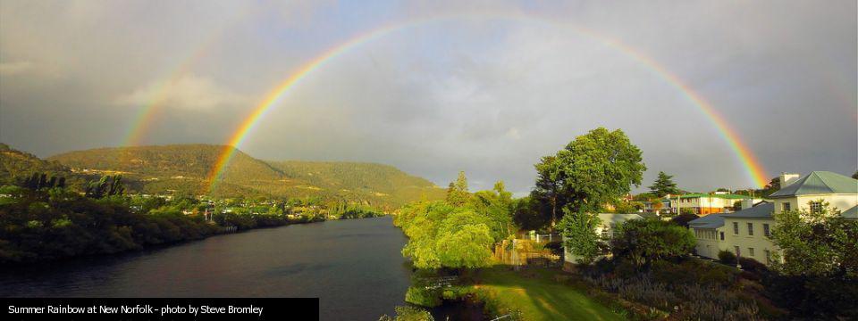 09 Summer Rainbow at New Norfolk – Steve Bromley